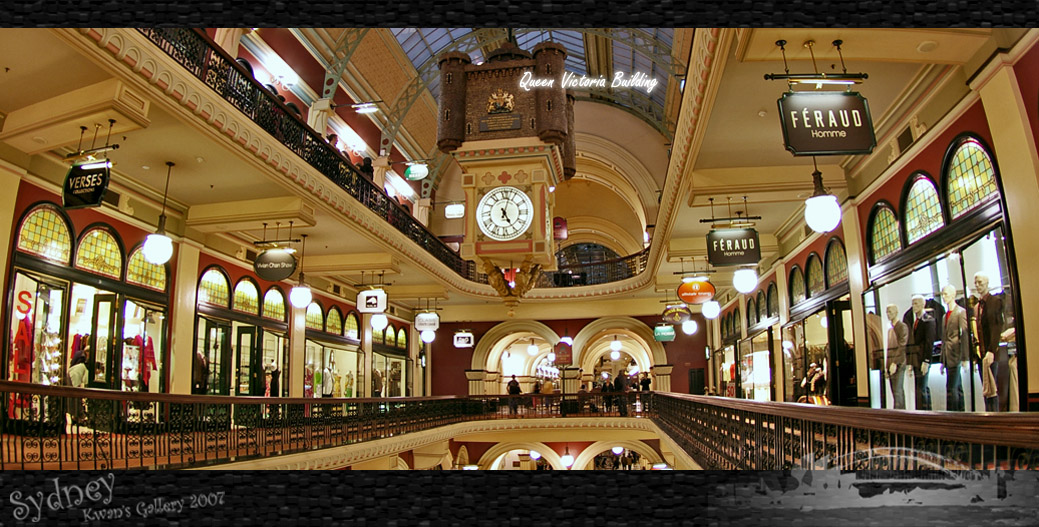 悉尼 Queen Victoria Building